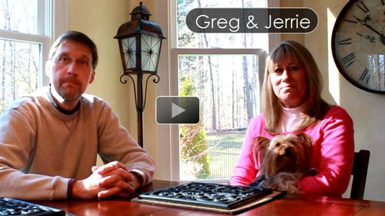 Greg and Jerrie testimony